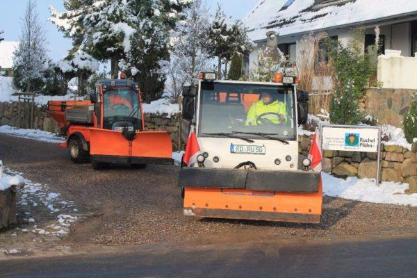 Winterdienst Wege