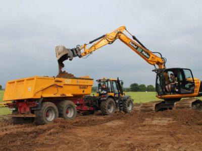 Erdarbeiten und Bodentransporte
