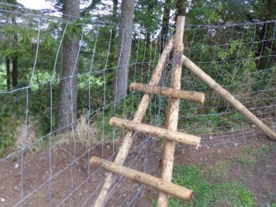 Zaunbau Überstiege